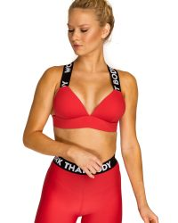"KEO Sportswear Bombshell sportmelltartó ""red"""