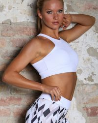 KEO Sportswear White sportmelltartó