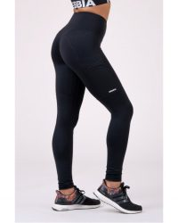 NEBBIA High Waist Fit&Smart leggings 505 – fekete