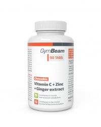 C-vitamin + cink + gyömbérkivonat rágótabletta (90 caps)